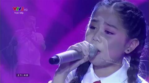 Bài ca nhớ Bác - Nhã Thy (Liveshow 6 Giọng hát Việt Nhí 2015)