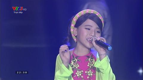 Trăng Quê - Công Quốc ,Nhã Thy,Khánh Linh (Liveshow 4 Giọng Hát Việt Nhí 2015)