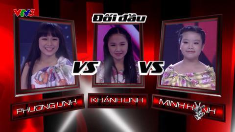 The Voice Kids 2015| Vòng Đối Đầu| Hà Nội 12 Mùa Hoa - Khánh Linh & Phương Linh & Minh Hạnh